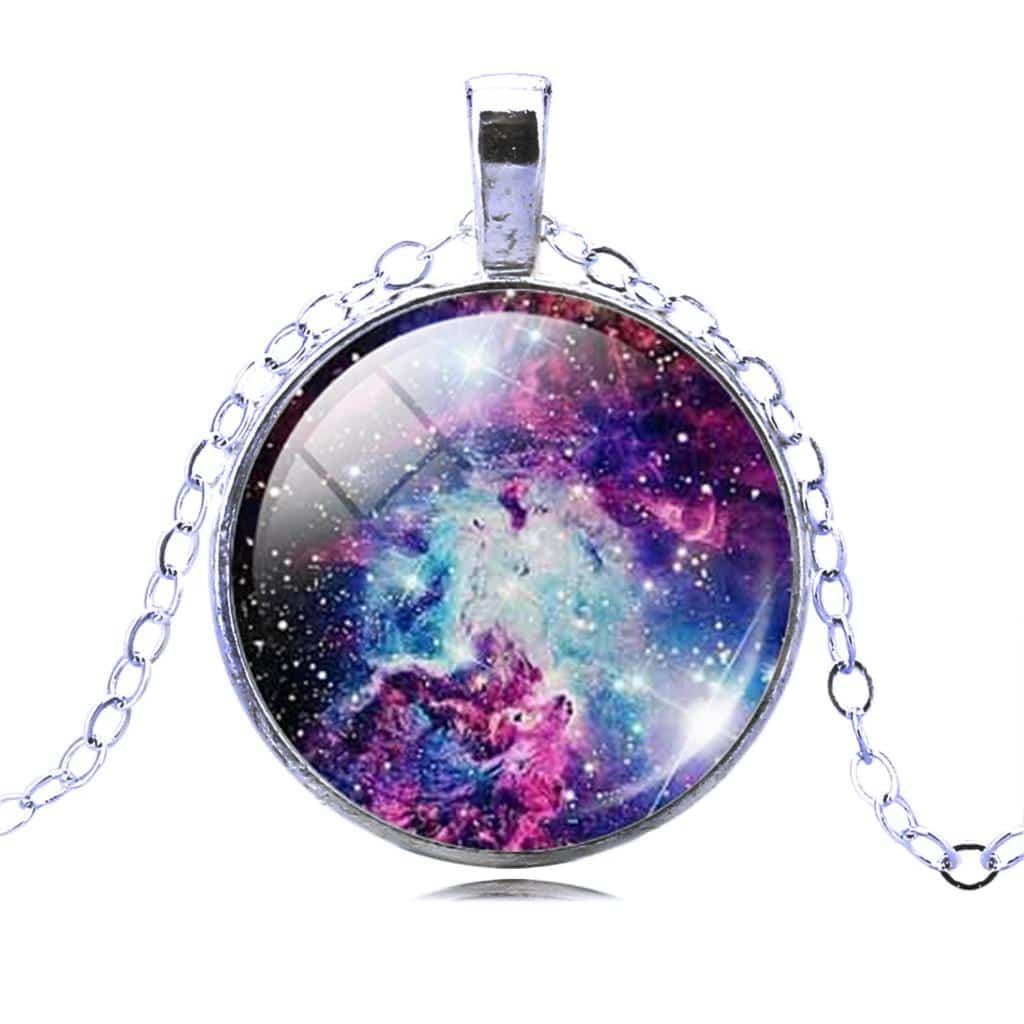 Galaxy Necklace Amp Earrings Set Coolgearspot Online