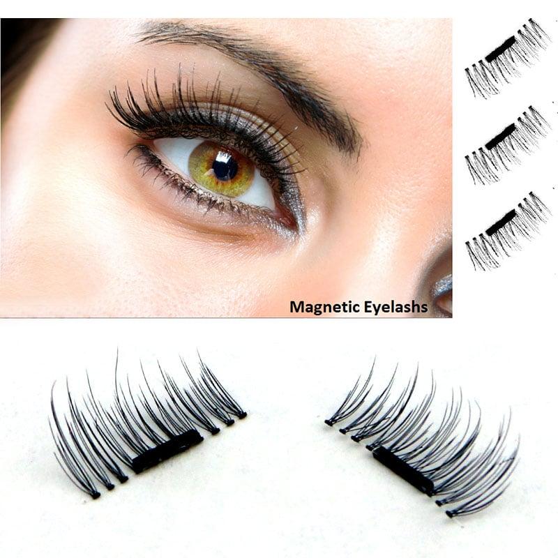 4 Pcs/Pairs Magnetic Eyelashes Extension Eye Beauty
