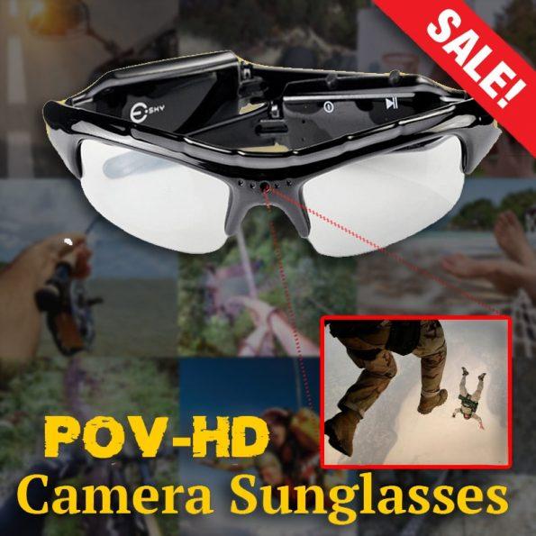 Pov HD Camera Camcorder Sunglasses