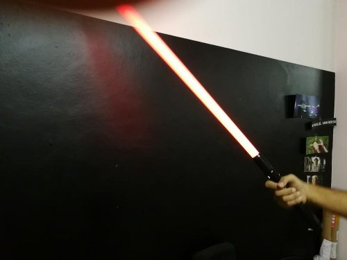 TotalFX Lightsaber with Rechargeable battery & Alloy Aluminum Hilt - Collector's Item! photo review