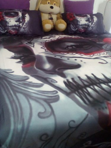 Bride Skull Bedding Set photo review